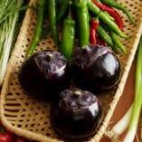 春は筍、夏は賀茂なす、秋はきのこ…といった旬の京野菜を堪能