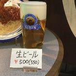 キリンラガー中ジョッキ生ビール