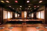 2階 テーブル席(6~8名様)