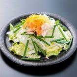 【野菜】蒸し鶏と白菜のさらだ