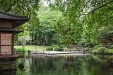 140年の歴史漂う「日本庭園」