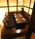 【完全個室】まるで離れのような、6名様までの個室。