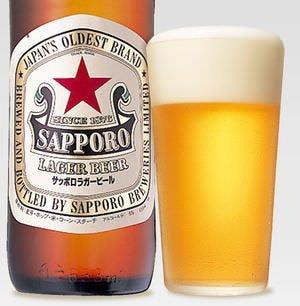 飲み放題はサッポロ赤星 ラガービールです!!