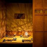 獺祭をはじめ、日本各地に日本酒を、創作割烹と共に堪能。