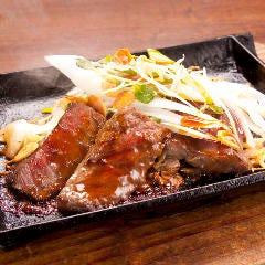 2大会連続日本一!宮崎牛の鉄板ステーキ~にんにく醤油~