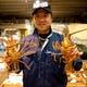 宮崎市場の㈱長谷川水産の社長、毎日直送鮮魚を届けてくれます。