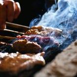 【絶品】廣島赤鶏など広島県産の銘柄鶏 当店の焼鳥はご希望の本数をお聞きし、おまかせ順でのご提供。