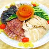 5種冷菜の盛り合わせ