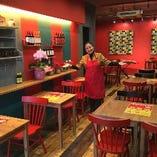 本店隣「双喜麺上海」の貸切も可能 ぜひご相談くださいませ!