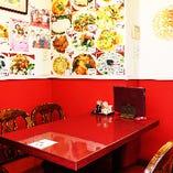 テーブル半個室【4名様】特別な会食や気軽な宴会、様々なシーンに重宝