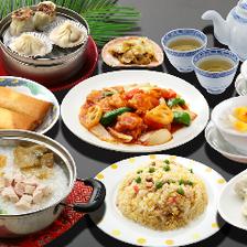 皮から手づくり、上海出身の点心師が手がける焼売や小籠包に餃子や粥を味わえる『飲茶コース』全10品