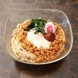 温玉肉みそ素麺(冷)