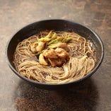 黒カレー素麺(温)