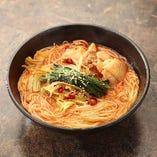 野菜チゲ素麺(温)