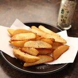 オリーブ塩のポテトフライ