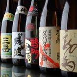 +1000円でプレミアム飲み放題に変更でき、四国の日本酒、焼酎、ワイン、地サイダーが飲み放題になります。
