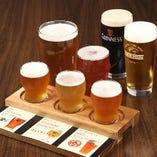 8種類あるクラフトビール!!様々な味わいを楽しめます!