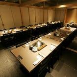 【最大40名】テーブル個室