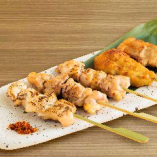 串盛り合わせ 5種(塩・タレ)
