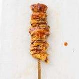 鶏かわ(塩・タレ)