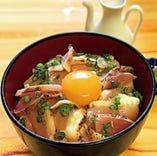 極み鶏 大摩桜の生親子丼