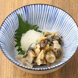 北海道産 つぶ貝わさび醤油漬け
