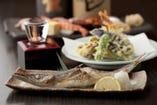 鮮魚を使った一品料理