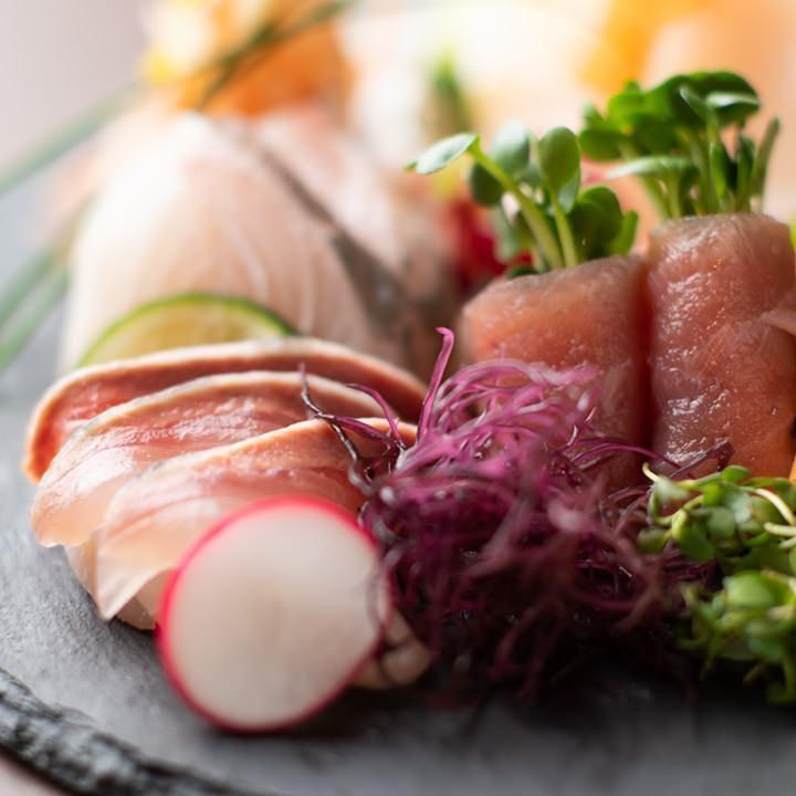 採れたての海鮮料理
