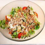 サラダもこのボリューム!4種のサラダをご用意しています