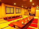 3階座敷は最大50名様まで宴会可能。