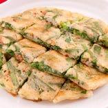 お馴染み&定番の韓国料理「チヂミ」も種類豊富にご提供!