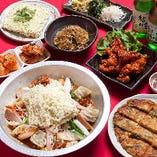 【組数限定】もつ鍋 or すき焼き鍋 韓国絶品鍋を堪能『選べる韓国鍋コース』飲み放題付