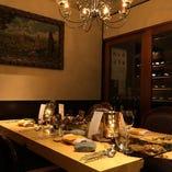 接待や特別な日のお食事にご利用頂ける個室完備