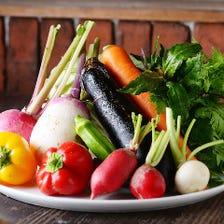 地元野菜と全国からの嬉しい味の便り