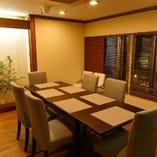 【接待・会食】や【お食事会】におすすめのテーブル席