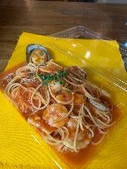 丸ごと渡り蟹の塩味スパゲッティ