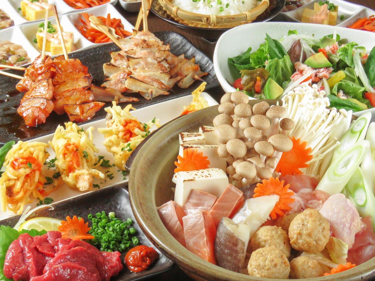 GoTo利用OK!会津馬刺と旬菜料理の選べるプラン4000円(税込)
