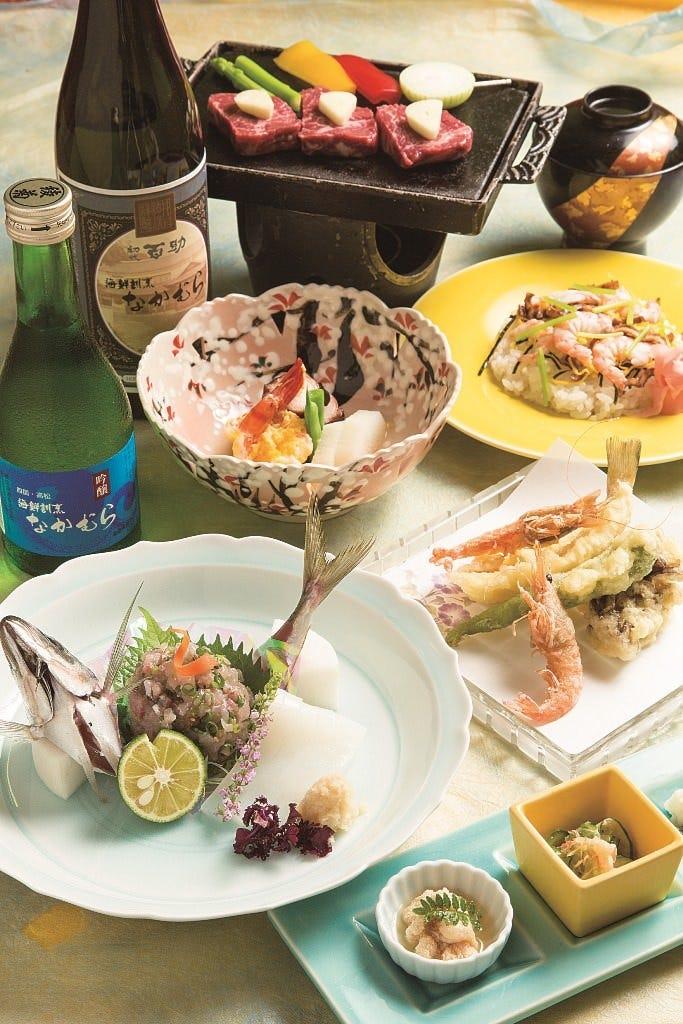 ■豪華なコースは接待・会食などに…