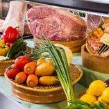 ◇厳選食材◇朝倉野菜をはじめとした九州産の新鮮な野菜を使用しております!