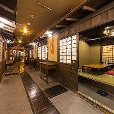 古き良き日本歴史を感じる2つの空間