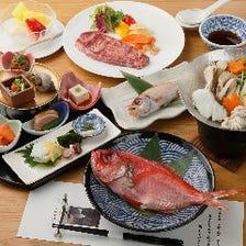 豊洲市場から届く厳選食材コース料理