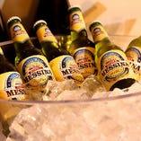 各国のビールが登場することも