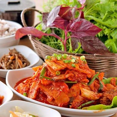28種の野菜とサムギョプサル食べ放題 やさい村大地 赤坂田町通り こだわりの画像