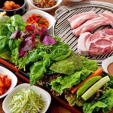 [野菜食べ放題]サンパセット3,500円