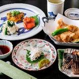 【コース】 鯛・蛤・竹の子 旬の味覚が満載!飲放付5,000円~