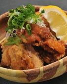 鶏の唐揚げネギソース