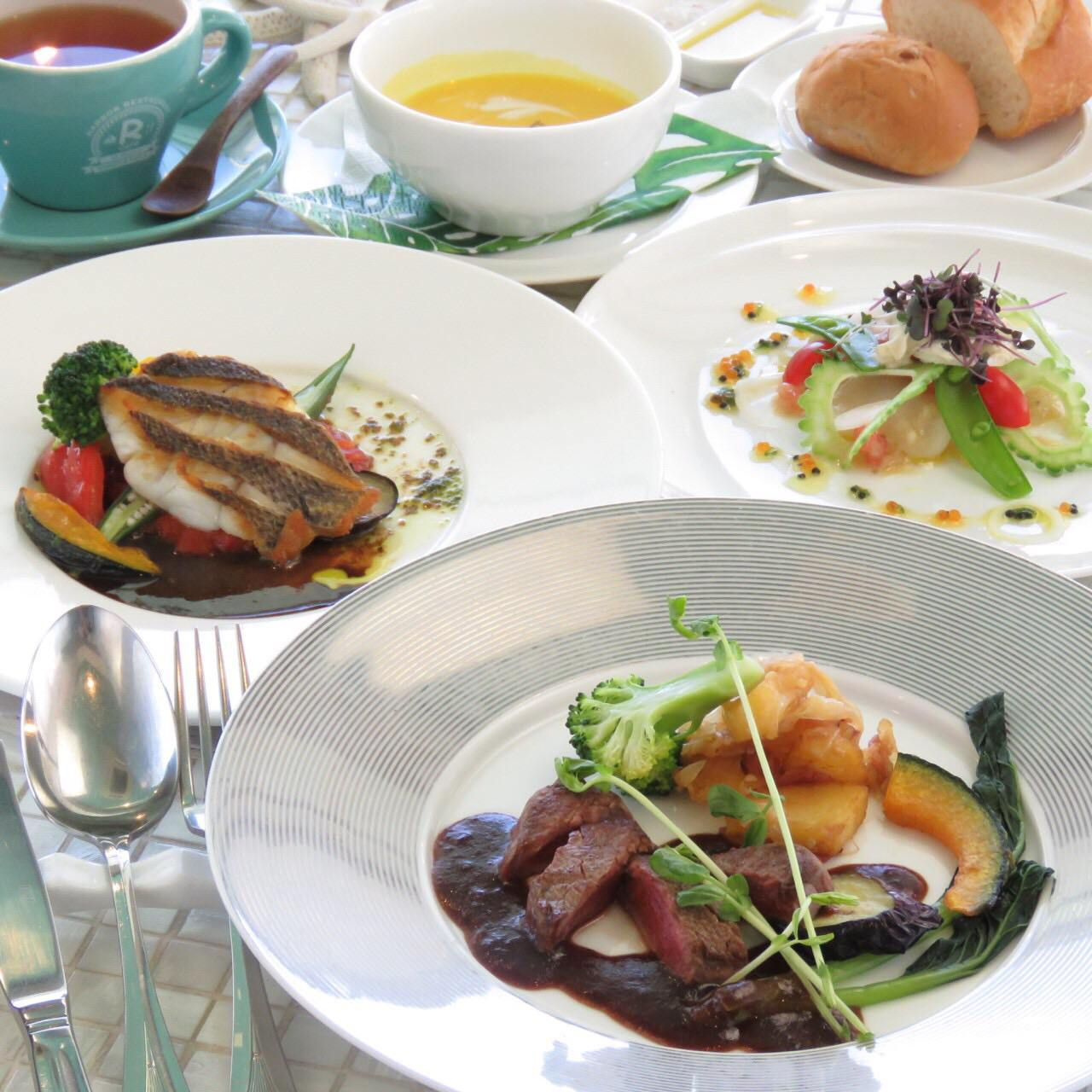 Marina Special lunch set  Aコース 2100円