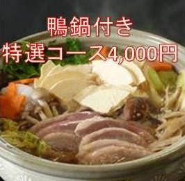 【せり鍋・特製ちゃんこ】料理8品120分飲み放題付 4,000円