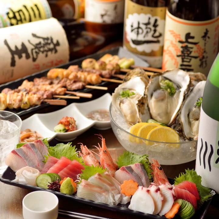 【グレードアップコース】料理8品120分飲み放題付 4,000円