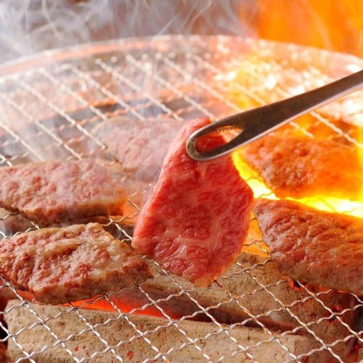 【七輪コース】焼肉三昧! 料理14品120分飲み放題付 3,800円